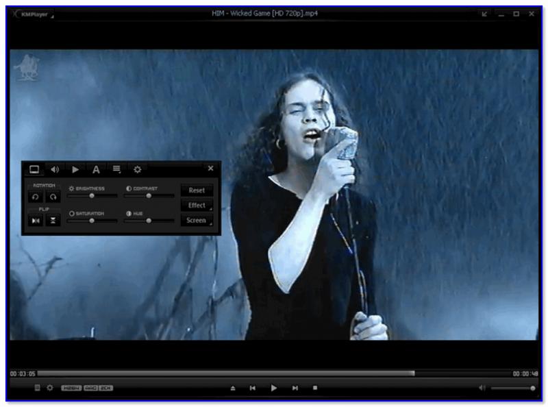 KMPlayer - пример изображения