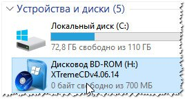 Windows XP открыта в Daemon Tools.