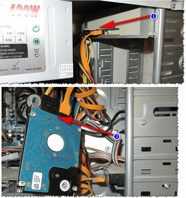 Подключение жесткого диска ноутбука к ПК
