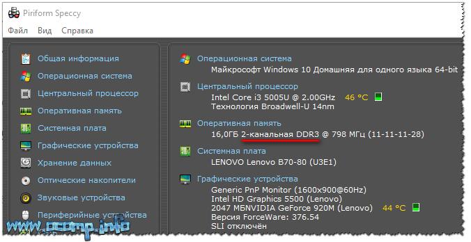 2-канальная DDR3