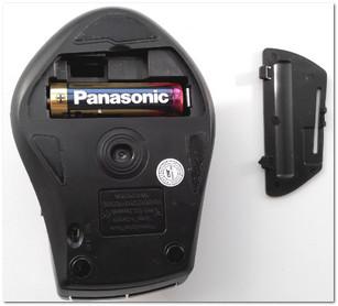 Батарейка в мышке: не села ли? ☺