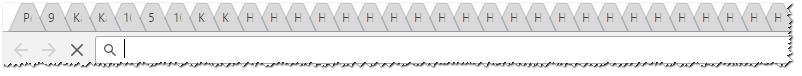 Десятки открытых вкладок... Естественно браузер будет тормозить всё больше, с каждой новой открытой вкладкой...