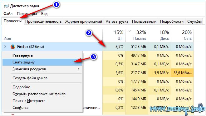 Снимаем задачу // Windows 10