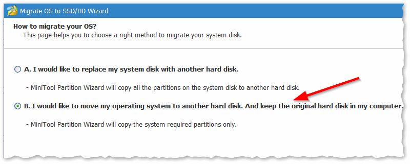 Копируем только системный диск с Windows (а не весь целиком)