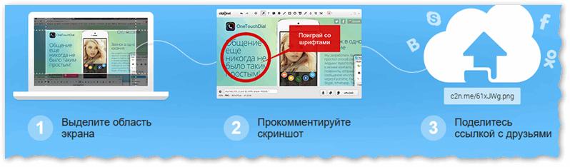 Clip2Net — самый быстрый пособ сделать и загрузить скрин в сеть
