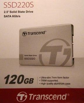 Упаковка с SSD накопителем