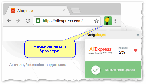 Расширение для браузера