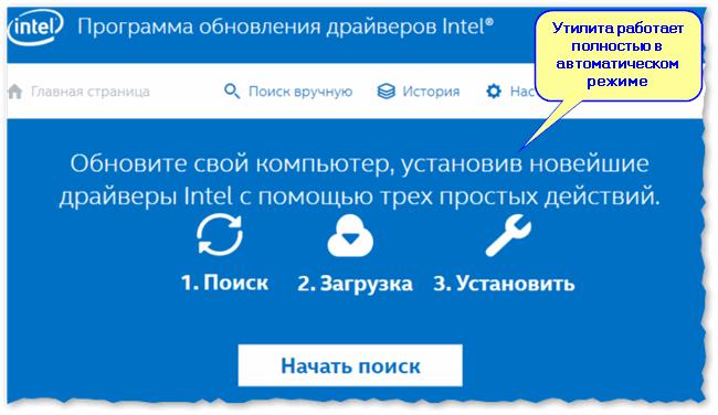 Утилита от Intel