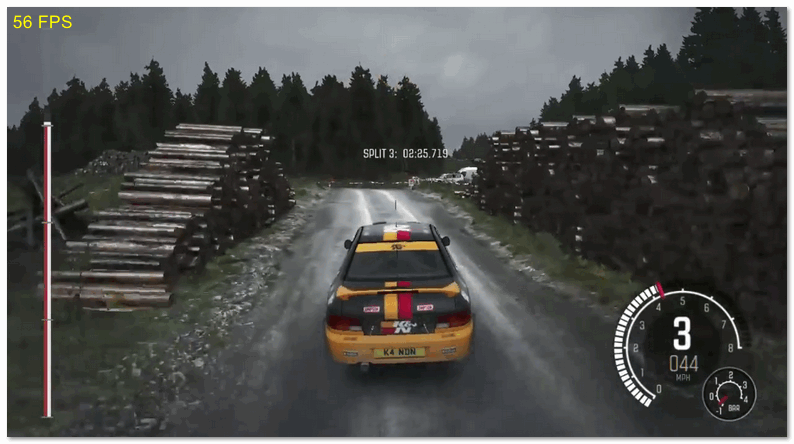 HD 56 FPS Dirt Rally Medium