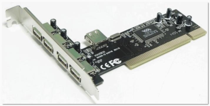 Контроллер PCI. 2xUSB Ports