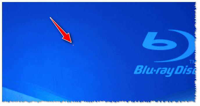 Мертвый пиксель на экране ноутбука