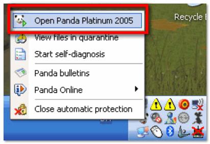Panda заблокировала всё...