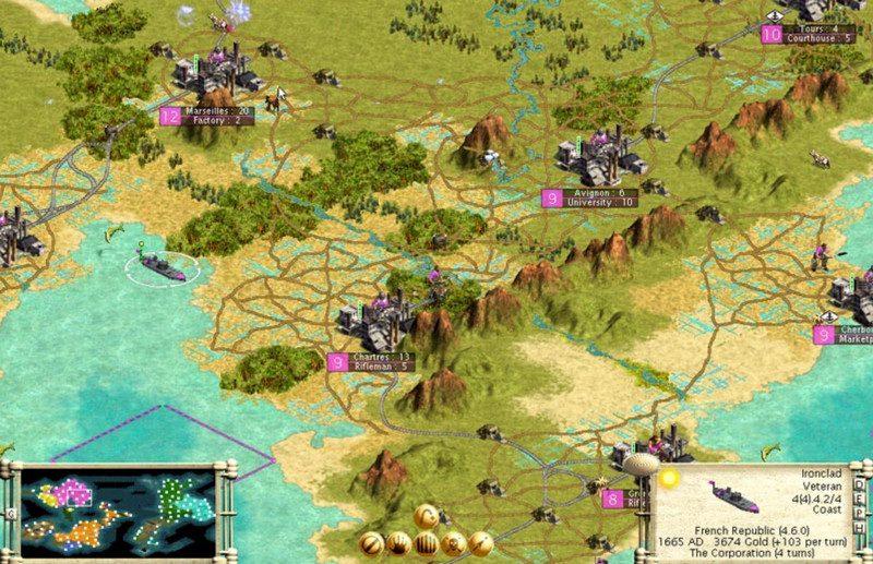 Цивилизация - компьютерная игра стратегия
