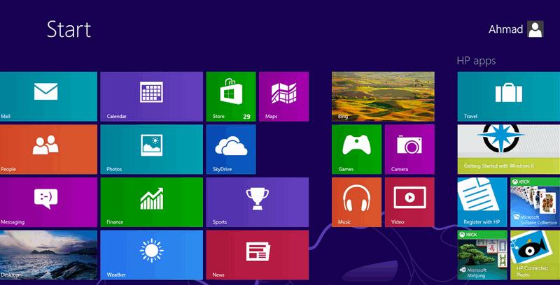 Windows 8 - рабочий стол