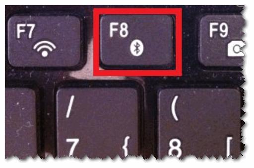 Кнопка для запуска начала работы Bluetooth
