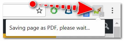 Начало сохранение веб-странички