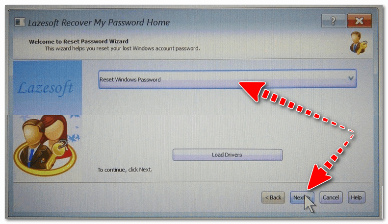 Сброс пароля в Windows (Reset Password Windows)