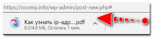 Загрузка странички в формате PDF