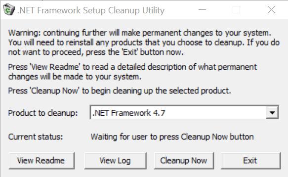 cleanup tool (работает в Windows 10)