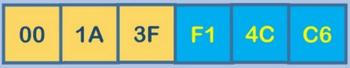 Пример обозначения (первые 3 значения - производитель, вторые - серийный номер)