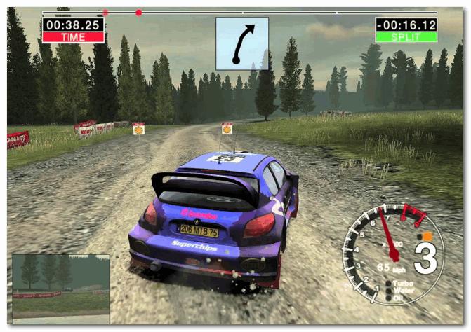 Colin McRae Rally 04 - скриншот из игры