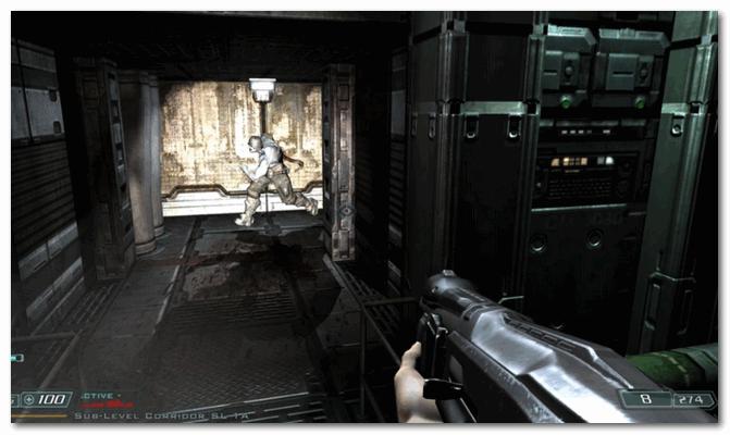Doom 3 - первая игра, в которую мне реально было страшно играть...