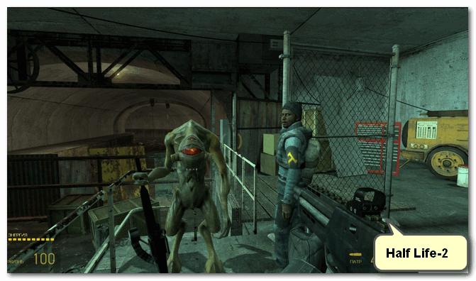 Half Life-2 - скриншот из игры