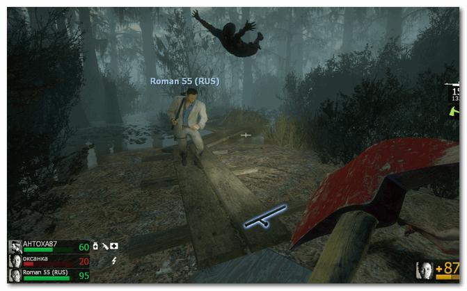 Left 4 Dead 2 - не очень приятный кадр...