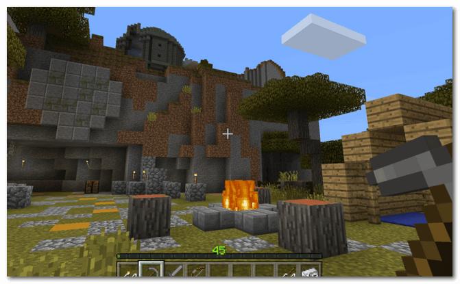 Minecraft - скрин из игры