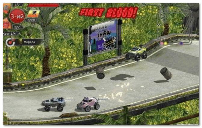 Motor Rock - скринн из гонок