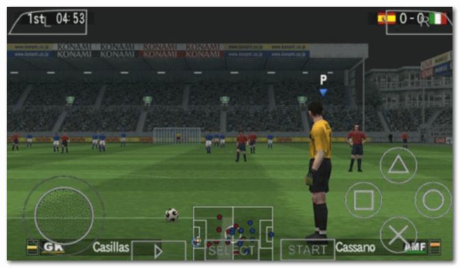 Pro Evolution Soccer 5 - скрин из игры