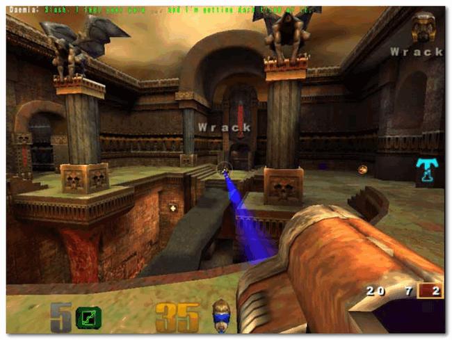Quake III Arena - скрин из игры
