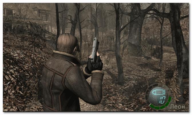 Resident Evil 4 - странный и таинственный лес...