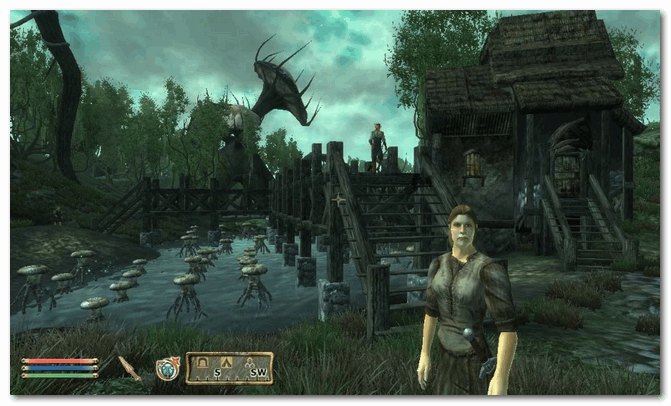 The Elder Scrolls IV Oblivion (скрин из игры)