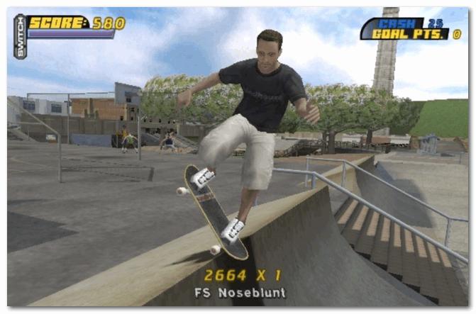 Tony Hawk Pro Skater 4 - это самый простейший трюк в игре!