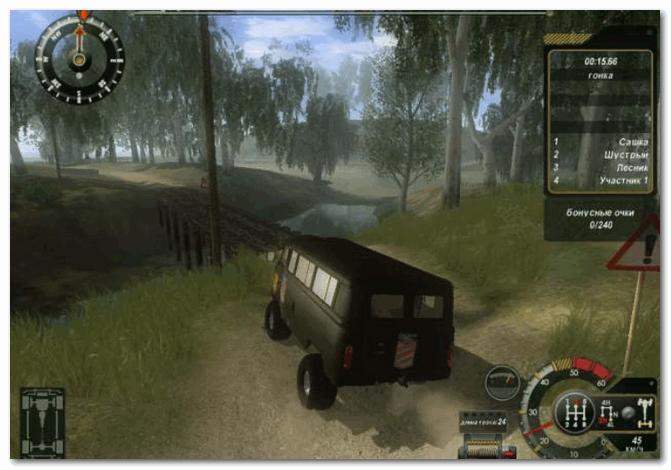 УАЗ 4x4 - скрин из игры