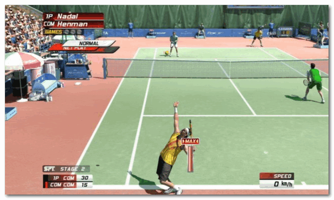 Virtua Tennis 4 - перенесет вам на солнечный зеленый корт