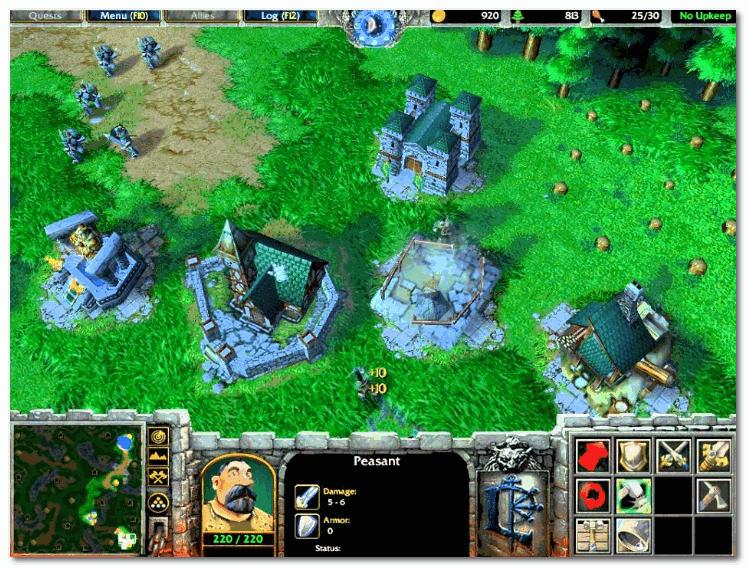 Warcraft III Reign of Chaos (скриншот из игры)