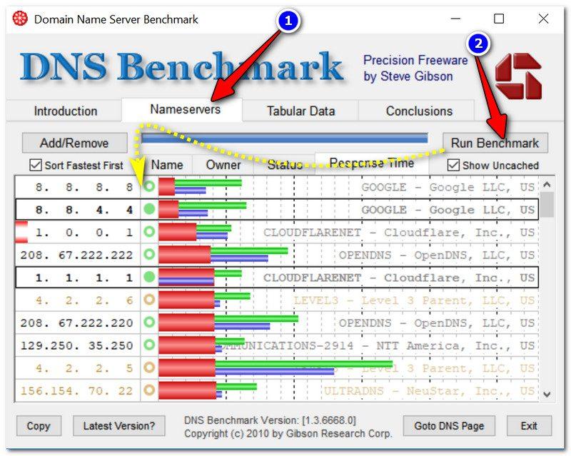 Определяем наиболее быстрый DNS-сервер для конкретно вашего провайдера