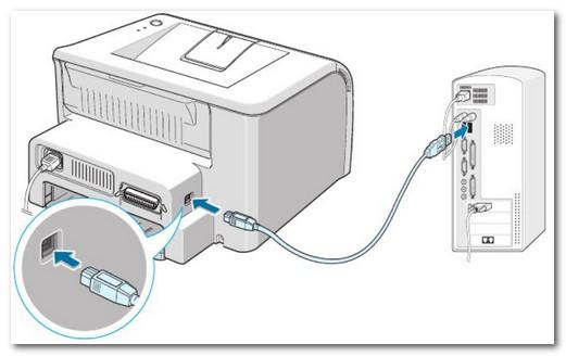 Подключение сканера к ПК