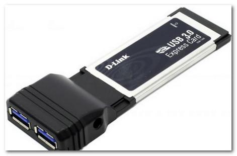 Такой гаджет под слот Expresscard позволит иметь USB 3.0 на старом ноутбуке
