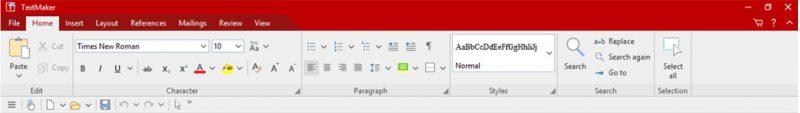 TextMaker (входит в комплект FreeOffice)