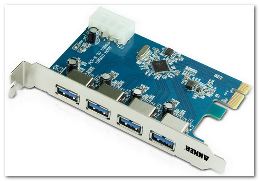 Uspeed USB 3.0 PCI-E Express Card