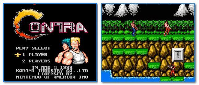 Скрин из игры Контра