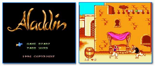 Скрины из игры Алладин