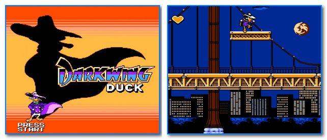 Скрины из игры Darkwing Duck