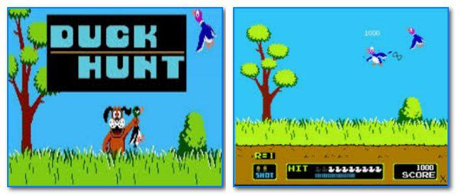 Скрины из игры Duck Hunt