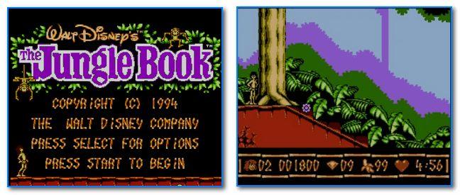 Скрины из игры Jungle Book