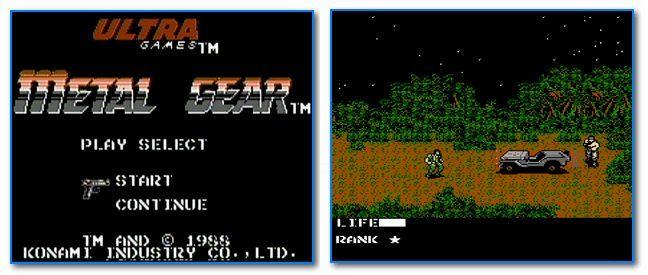 Скрины из игры Metal Gear