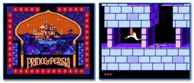 Скрины из игры Prince of Persia